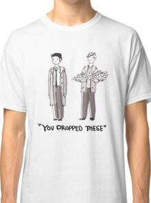 "Dean/Cas: ""You Dropped These"" Classic T-Shirt"