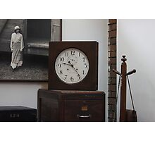 Time stamp Photographic Print