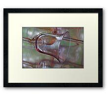 Reflected Vision ~ Glass Goblet Framed Print