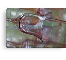 Reflected Vision ~ Glass Goblet Canvas Print