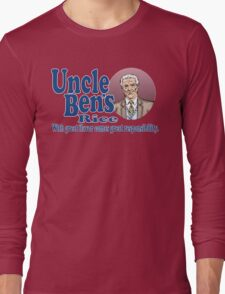 Uncle Ben's Rice. Spider-man Long Sleeve T-Shirt
