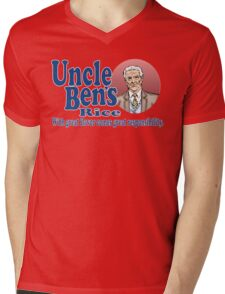 Uncle Ben's Rice. Spider-man Mens V-Neck T-Shirt