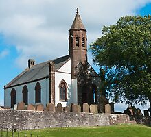 Building, Church, Mouswald, Dumfriesshire, Scotland, by Hugh McKean