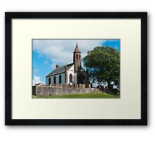 Building, Church, Mouswald, Dumfriesshire, Scotland, Framed Print