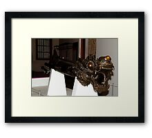 The Dragon Cannon Framed Print