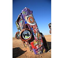Route 66 Cadillac Ranch Photographic Print