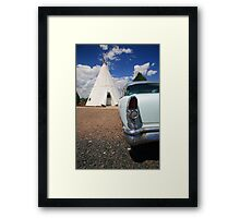 Route 66 Wigwam Motel Framed Print