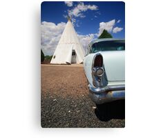 Route 66 Wigwam Motel Canvas Print