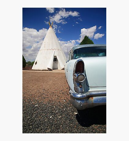 Route 66 Wigwam Motel Photographic Print