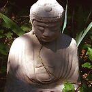 Buddha In The Garden of Shadows by NovaCynthia