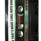 Now that's what I call quite good awesome mix tape iphone case by redcow
