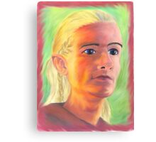 Technicolor Elf Canvas Print