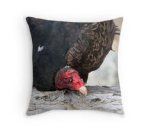 Nature's Solid Waste Disposal Worker Throw Pillow