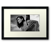 Standing In The Sun Framed Print