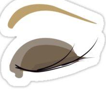 make up eyes Sticker