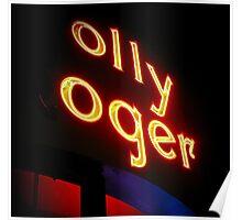 the olly oger Poster