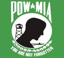 POW-MIA for Dark Backgrounds Baby Tee