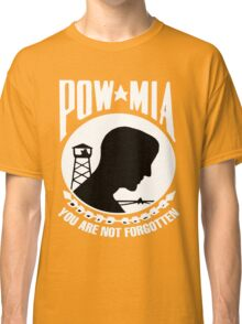 POW-MIA for Dark Backgrounds Classic T-Shirt