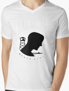 POW-MIA for Dark Backgrounds Mens V-Neck T-Shirt