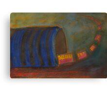 The Train Canvas Print