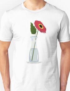 gerbera in vase T-Shirt