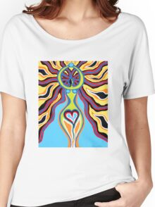Goddess of the Moon - Abstract Art by Valentina Miletic Women's Relaxed Fit T-Shirt