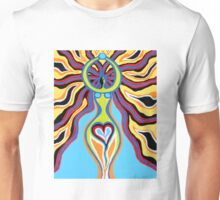 Goddess of the Moon - Abstract Art by Valentina Miletic Unisex T-Shirt