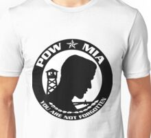POW-MIA You are NOT Forgotten! Unisex T-Shirt