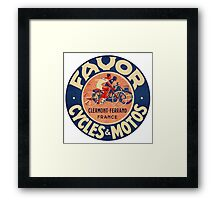 Favor Cycles and Moto Framed Print