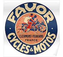 Favor Cycles and Moto Poster