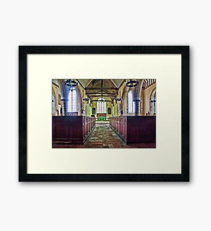 St Matthew Warehorne Framed Print
