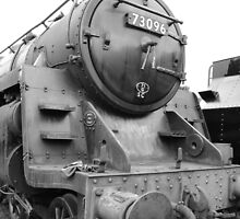 Steam Locomotive by codriver