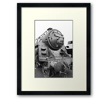 Steam Locomotive Framed Print