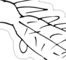 FUGLY CROCODILE Sticker