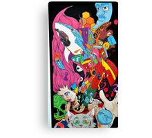 Suicide Wonderland Canvas Print