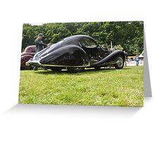 Talbot Lago T-150 CSS (1938) Greeting Card