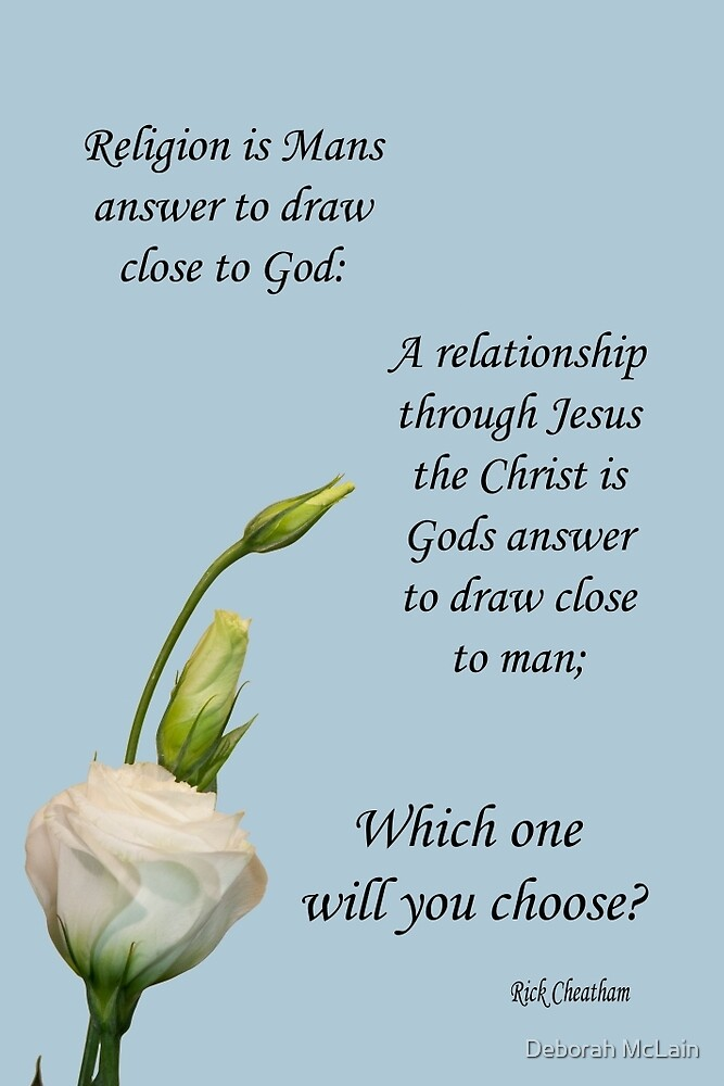 religion relationship by Deborah McLain