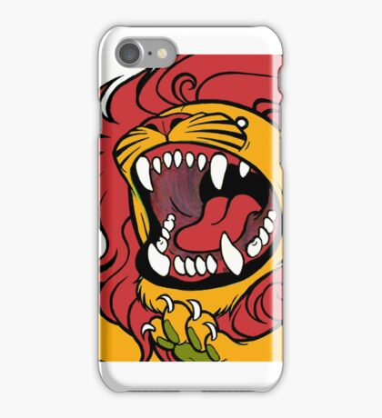 Il ruggito del leone iPhone Case/Skin