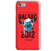 Balsac 2012 iPhone Case/Skin