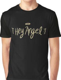 angel wings black Graphic T-Shirt