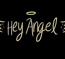 Hey Angel by 1D - Gold by eliannadraws