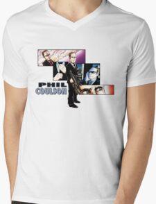 Phil Coulson- Honorary Avenger- LighterShirts Mens V-Neck T-Shirt