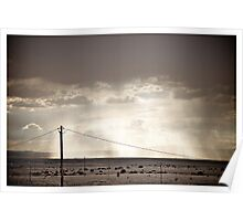 New Mexico Skies Poster