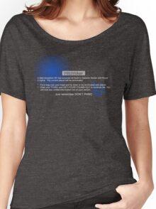 Hitchhiker's Error Women's Relaxed Fit T-Shirt