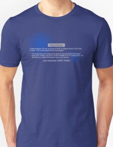 Hitchhiker's Error T-Shirt
