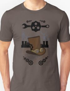Steam Nouveau art Unisex T-Shirt