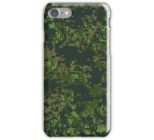 Canadian Digital Camouflage Pattern iPhone Case/Skin
