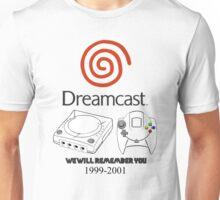 Dreamcast 4 Life Unisex T-Shirt