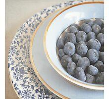Blueberries Photographic Print