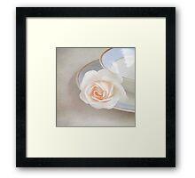 The Sweetest Rose Framed Print